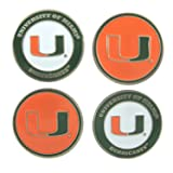 University of Miami 2-sided Golf Ball markers