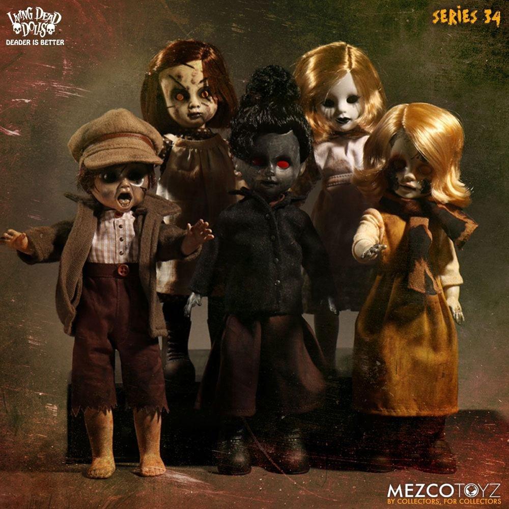 Mezco Toys Living Dead Dolls Serie 34 Figurine, 696198934151