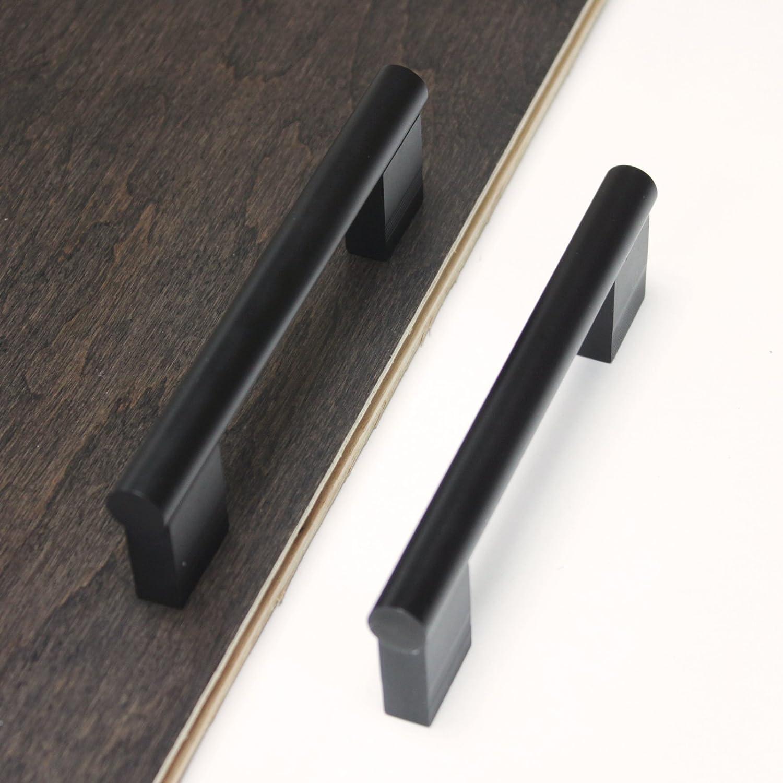 10Pack, CC:96mm Probrico 3-3//4 Hole Centers Flat Black Cabinet Handles kitchen Drawer Pulls