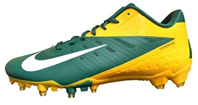 Nike Vapor Talon Elite Low Mens Football Cleats Green Yellow 534772 Size 16