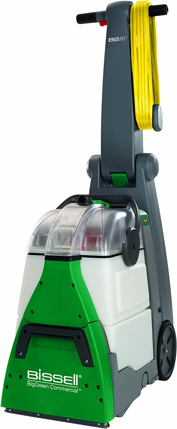 Bissell BigGreen Commercial BG10 Deep Cleaning 2 Motor Extractor Machine (Renewed)