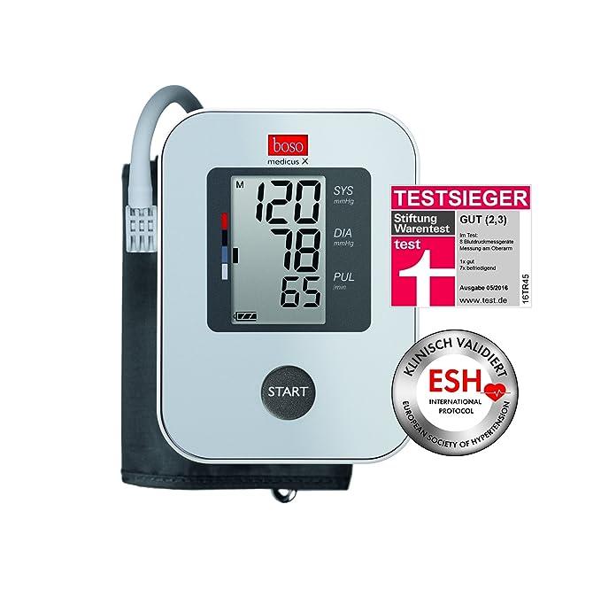 Boso boso medicus X Tensiómetro con todas las funciones básicas: Amazon.es: Salud y cuidado personal