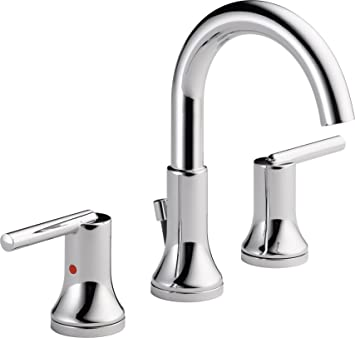 Delta Faucet 3559 MPU DST Trinsic, Widespread Bath Faucet With Metal Pop  Part 49