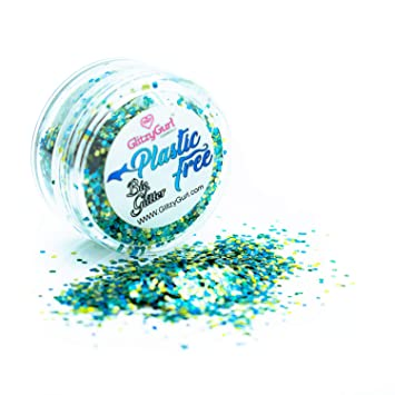 Purpurina biodegradable 100% de plástico libre de crueldad ...