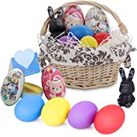 9-Pieces HomeMall Easter Eggs with Basket