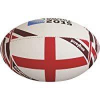 Gilbert Rugby World Cup 2015 England Flag Rugby Ball, Size 5
