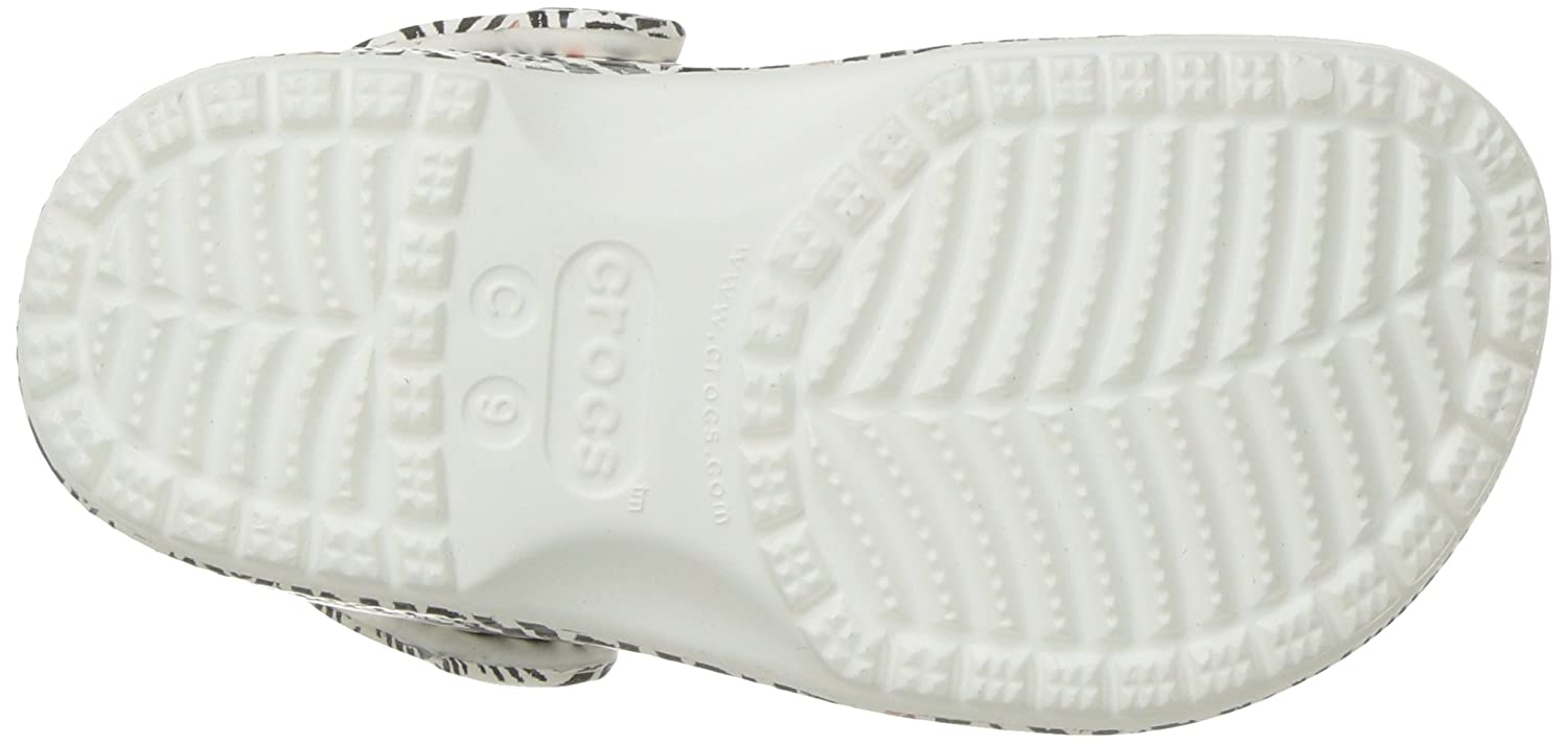 Crocs Kids Drew Barrymore Classic Chevron Clog