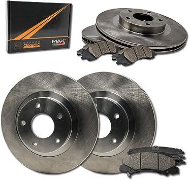Front 2001-2006 EscapeTribute Rotors w//Metallic Pad OE Brakes
