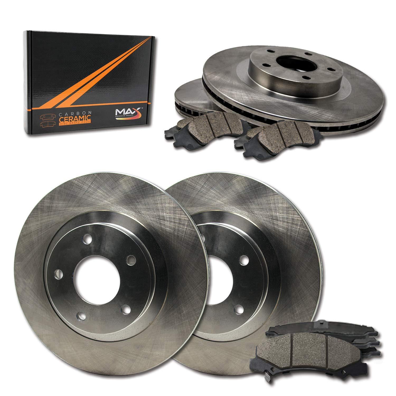 2011 2012 2013 Toyota Sienna OE Replacement Rotors Metallic Pads F+R