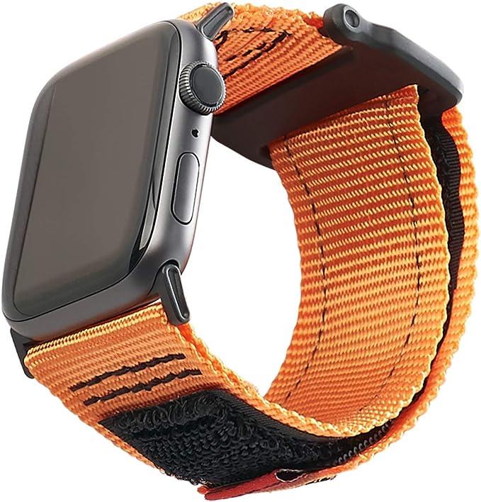 Urban Armor Gear Active Correa para Apple Watch 42mm / 44mm (Watch SE, Series 6, Series 5, Series 4, Series 3, Series 2, Series 1, Correa Reemplazable) Naranja: Amazon.es: Electrónica