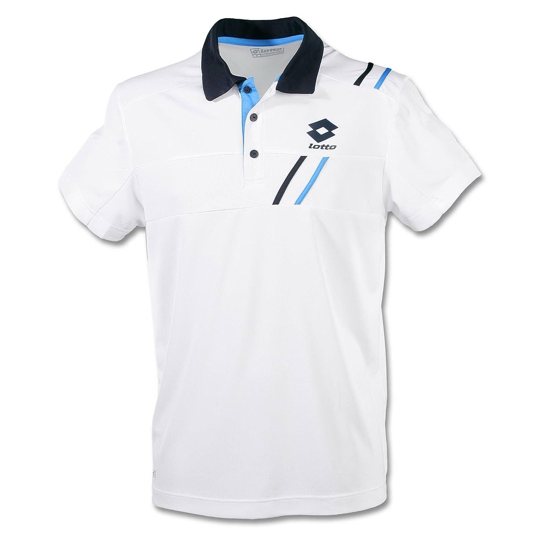 Lotto SET PI - Polo para hombre, color blanco y azul blanco blanco ...