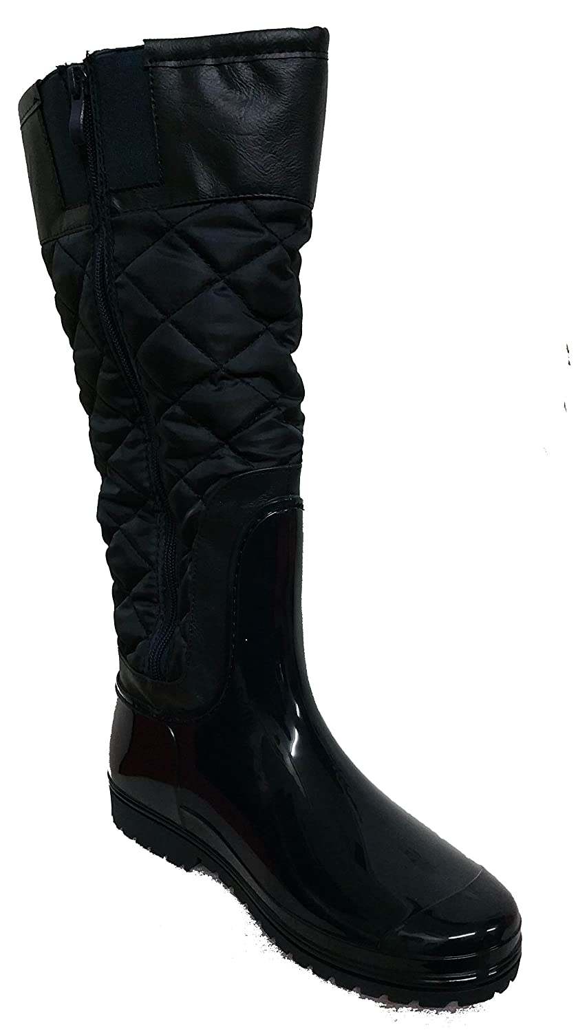 Henry Ferrera J-500 Dark Navy Ladies Tall Snow/Rain Boot