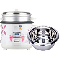 Rice Cooker 2L-6L Household Rice Cooker Mini Stainless Steel Rice Cooker Household Old-fashioned Multifunctional Rice…