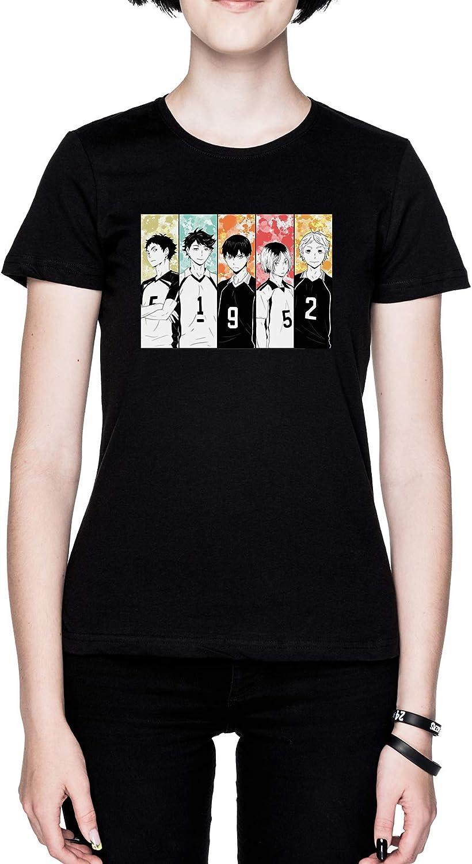 Setter /Équipe Noir Femme T-Shirt Black Womens Tee
