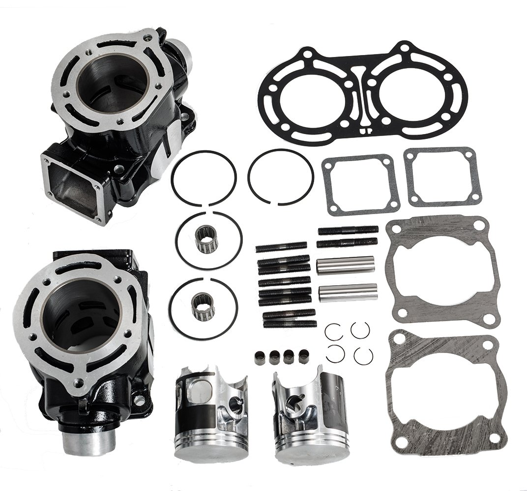 Max Motosports Cylinder Piston Rings Gaskets Kit Set for Yamaha Banshee 350 YFZ350 1987-2006