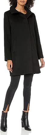 Cole Haan Women's Slick Wool Topper Coat