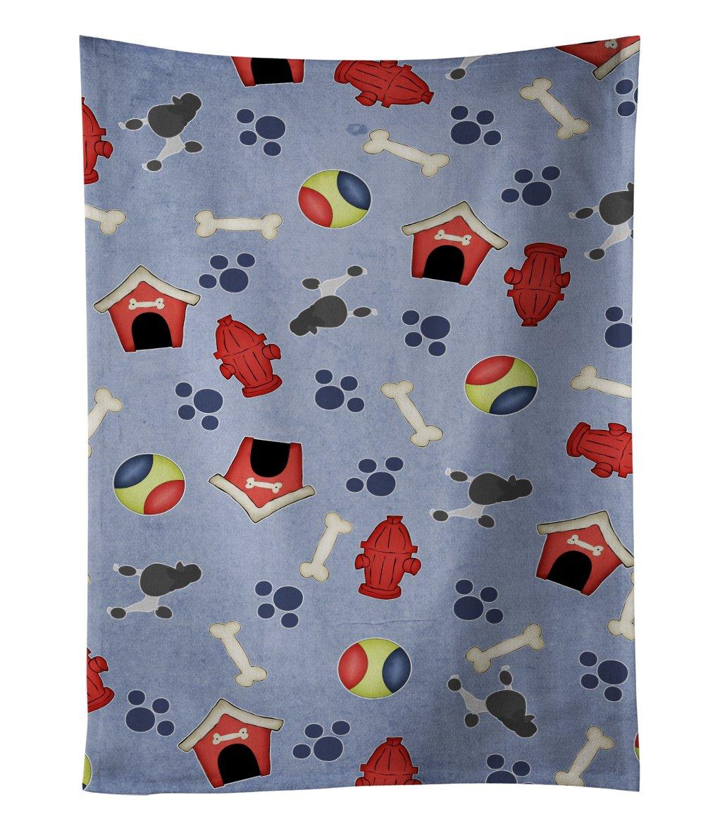 Multicolor Carolines Treasures BB3946KTWL Shih Tzu Dog House Collection Kitchen Towel 25 x 15