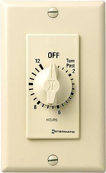 INTERMATIC Timer,Spring Wound,12 Hr FD12HWC