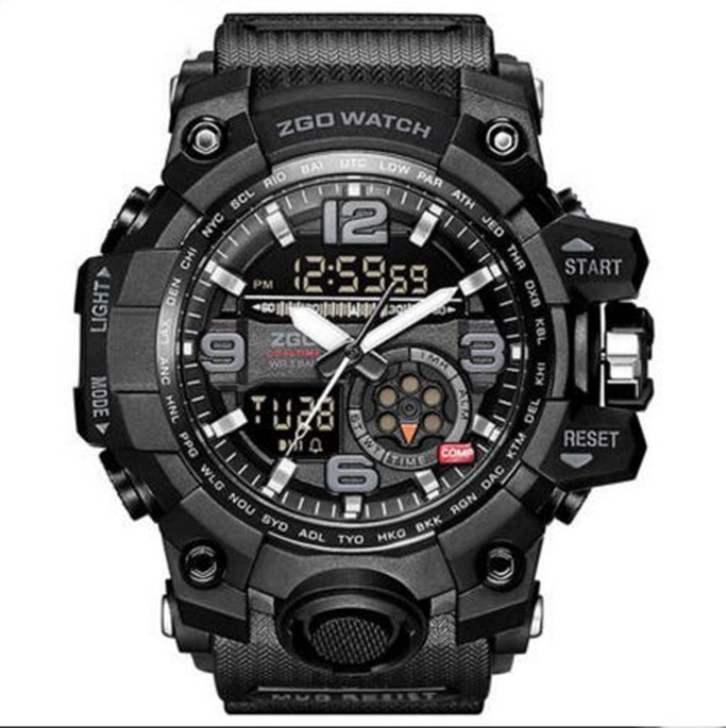 Electronic Watch Male Multi-Function Special Forces Mechanical Sharp Edge Attack Tactical Military Watch Sports Middle School Student Watchelectronic Watch Male Multi-Function Special Forces Mechanica by PLDDYY