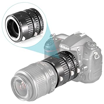 Neewer 3 pièces avec Tube D Extension Macro pour reflex numérique Nikon AF  AF-S DX N190 FX  Amazon.fr  Photo   Caméscopes 84e15bafb5d3