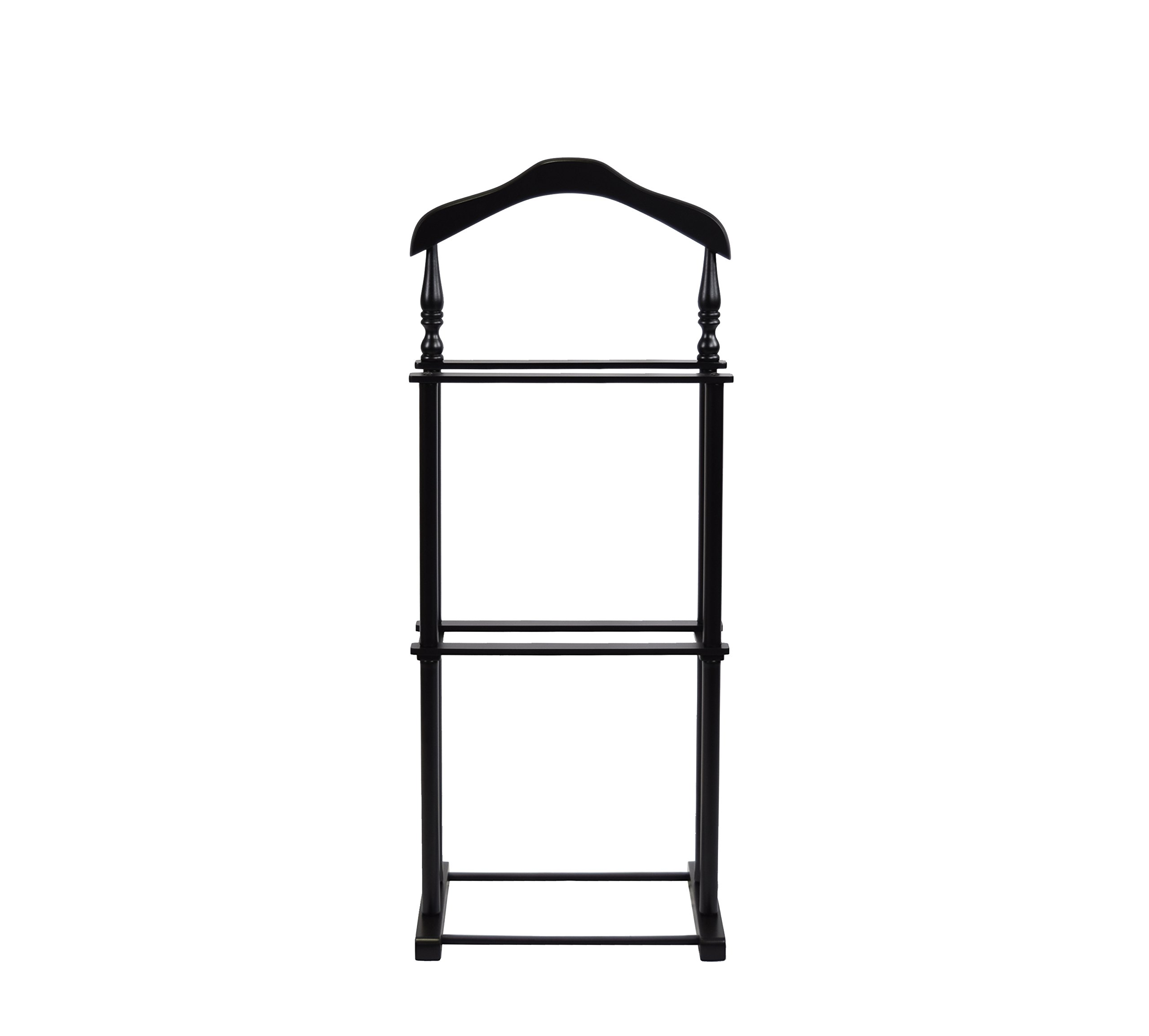 Proman Products VL17025 Twin Valet, 42.5'' Height, Black by Proman Products (Image #2)
