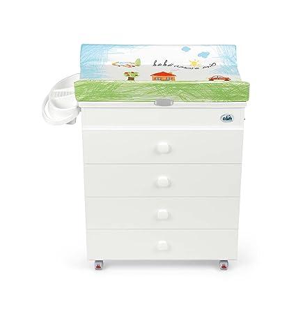 CAM Il mondo del bambino C915006/222 - Cambiador Asia, color blanco y verde
