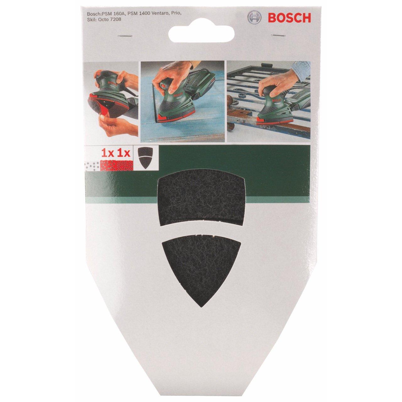 Bosch 2 609 256 088 Disco pulidor de limpieza y hoja adicional para multilijadoras pack de 2