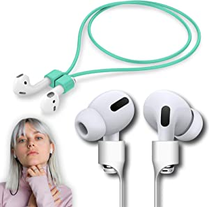 Ultra Strong Magnetic Strap Airpods Anti-Lost Cord Sports Leash String – Accessories Compatible with Airpods Pro/2/1 (Mint)