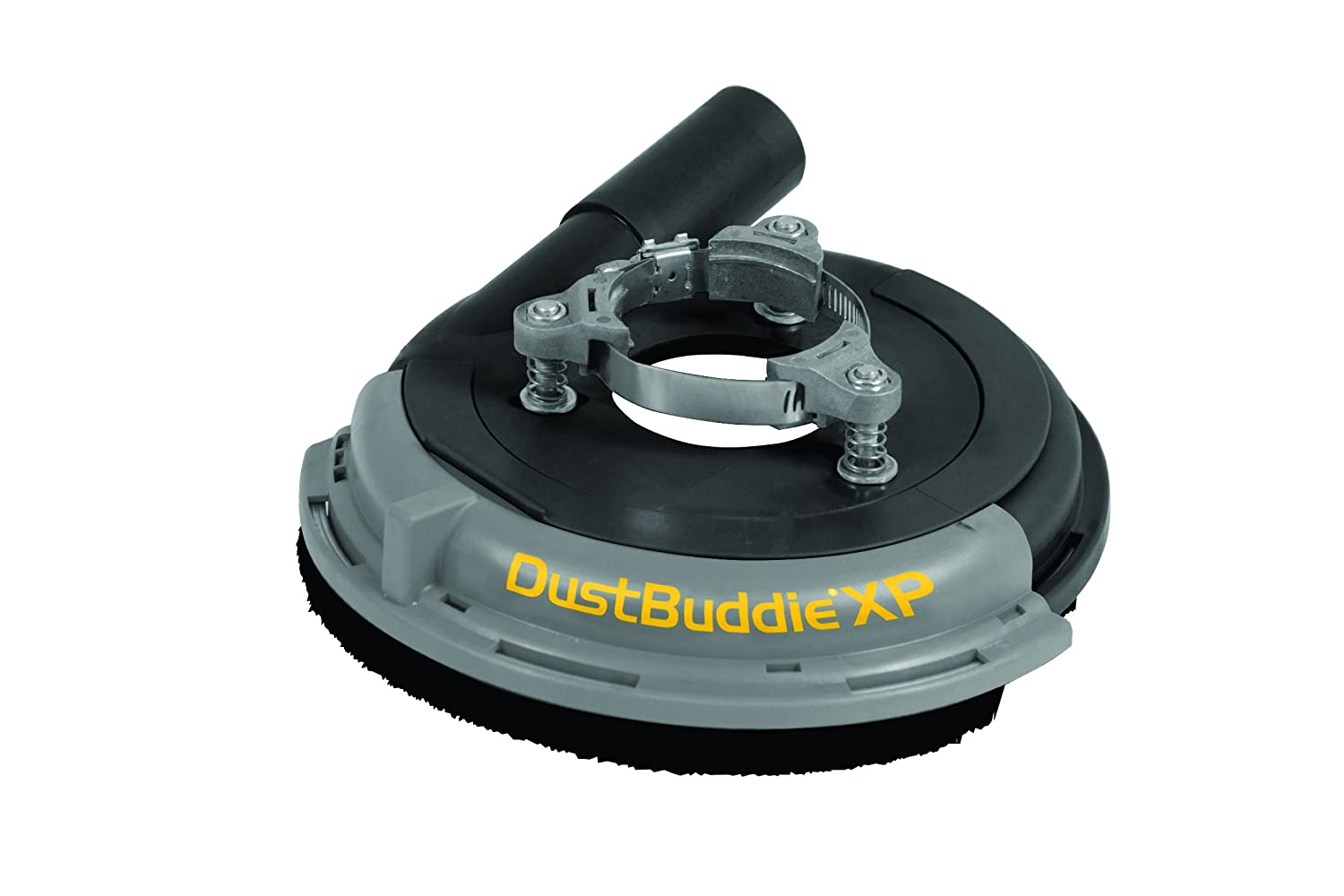 "Dustless Technologies D5850 Dust Buddie XP Universal Dust Control Attachment for Grinders, 7"", Black/Gray"
