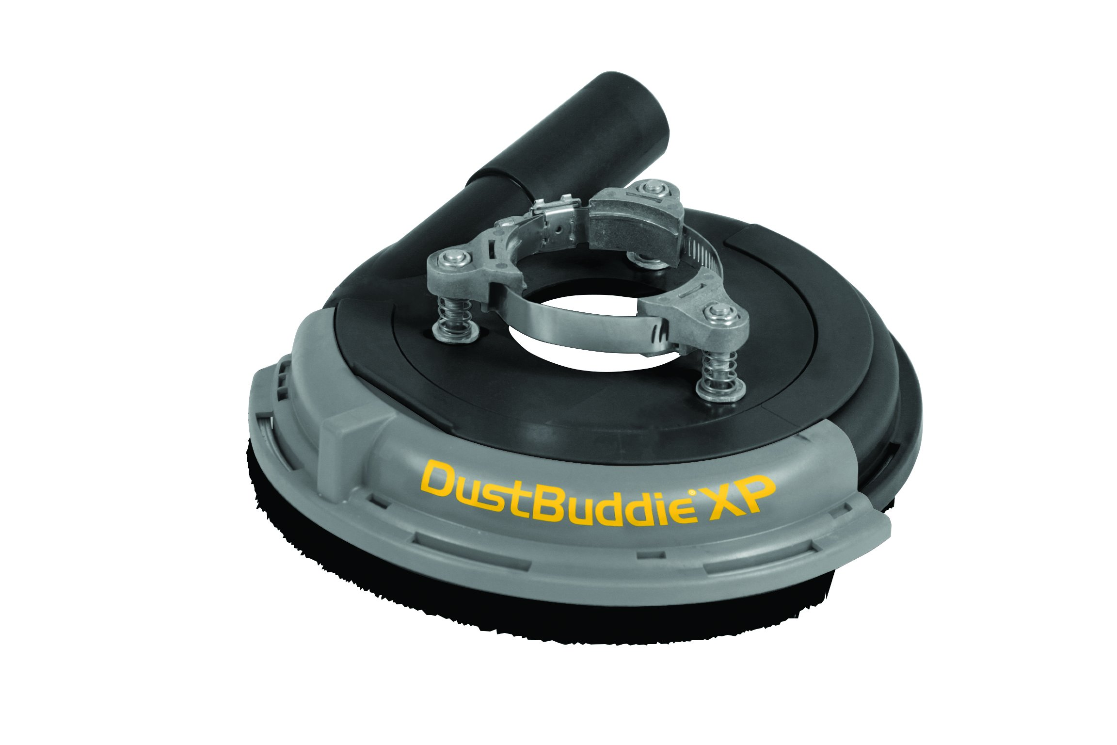 Dustless Technologies D5850 Dust Buddie XP Universal Dust Control Attachment for Grinders, 7'', Black/Gray