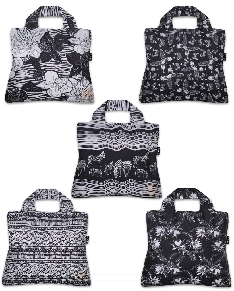Envirosax Out of Africa Reusable Shopping Bags (Set of 5) by Envirosax