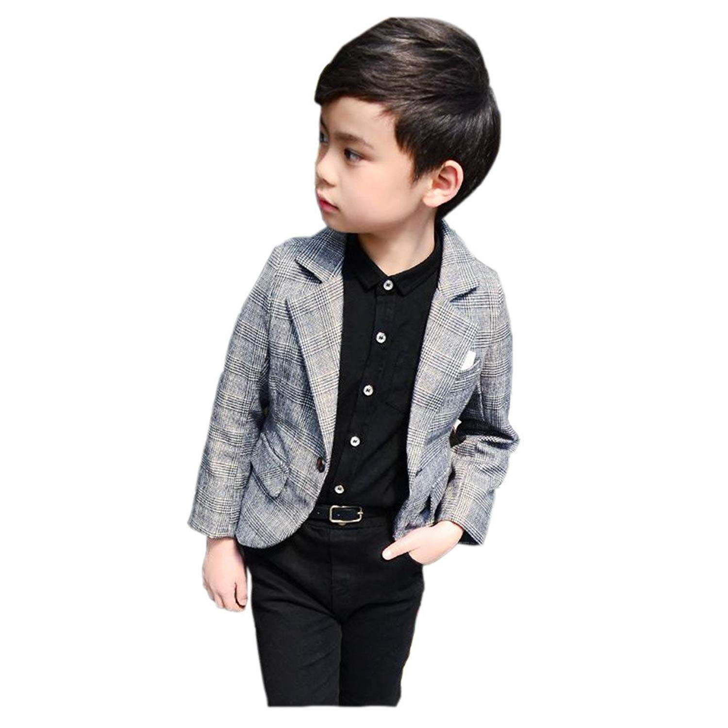 Boy Blazer Coat Gentleman Jacket Coat for Boys Kids Children Outerwear