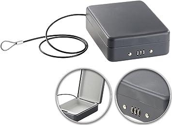 Xcase Auto Caja fuerte: Mini de acero de Fuerte para viaje & Auto ...