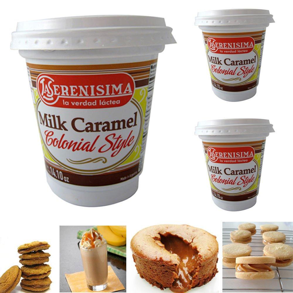 Amazon.com : La Serenisima Dulce De Leche (Caramel Spread) 400g / 14.10oz : Grocery & Gourmet Food