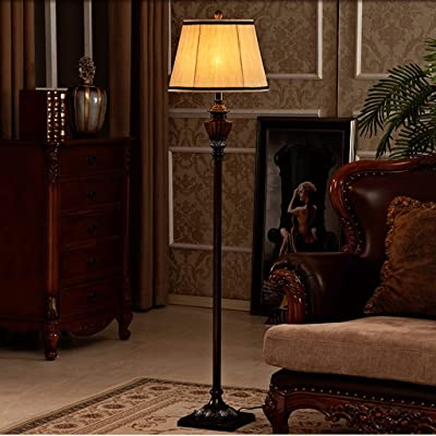 Protection des yeux pour lampadaire r sine r tro simple salon am ricain vertical antique led - Salon americain ...