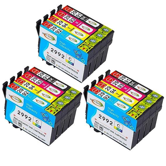 Win-TinTen - Cartucho de Tinta Compatible con Epson T29XL T2991XL ...