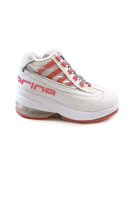 detailed look c400b 4dc55 Fornarina Vintage Sneakers con zeppa mod. PEFUP1725WY Fluo ...