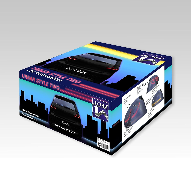 JOM 82871-2 LED R/ückleuchten schwarz