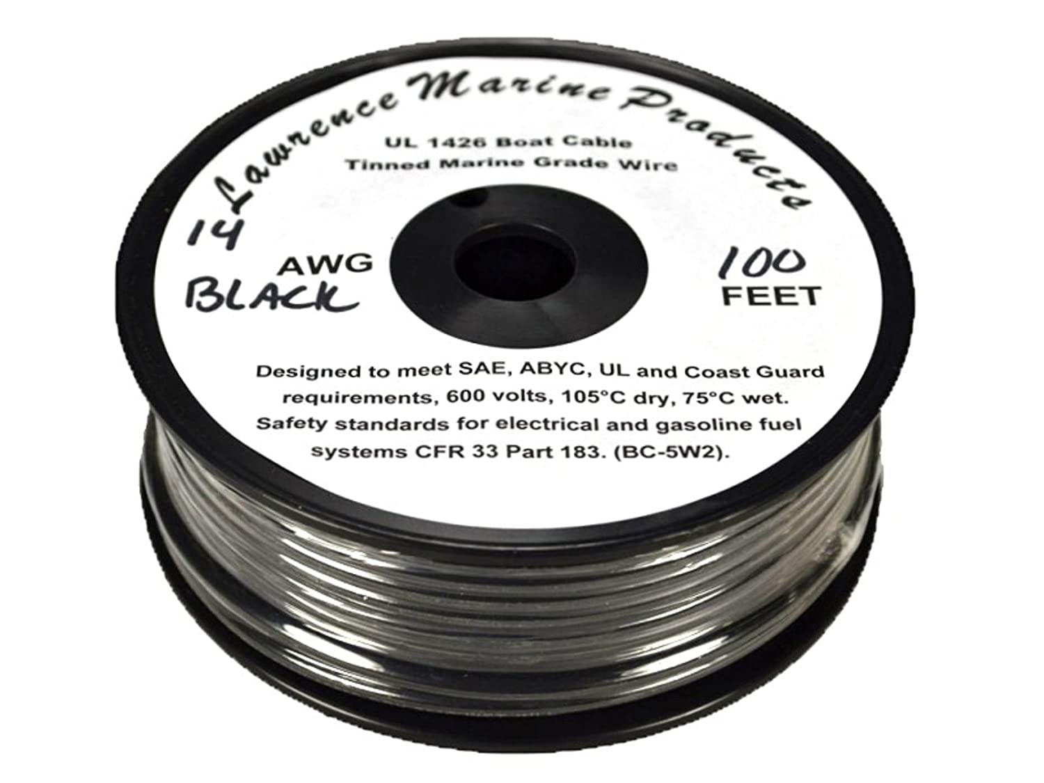 Lawrence Marine 14 Awg Tinned Primary Wire Made Electrical Wiring In Usa Industrial Scientific