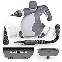 Deals on PurSteam Handheld Pressurized Steam Cleaner w/9-Piece Accessory Set