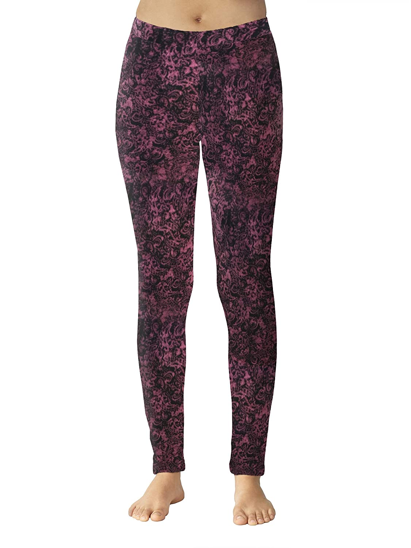 2c446812cb Cuddl Duds ClimateRight Women s Stretch Fleece Warm Underwear  Leggings Pants at Amazon Women s Clothing store
