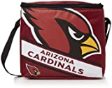 Arizona Cardinals Big Logo Stripe 12 Pack Cooler