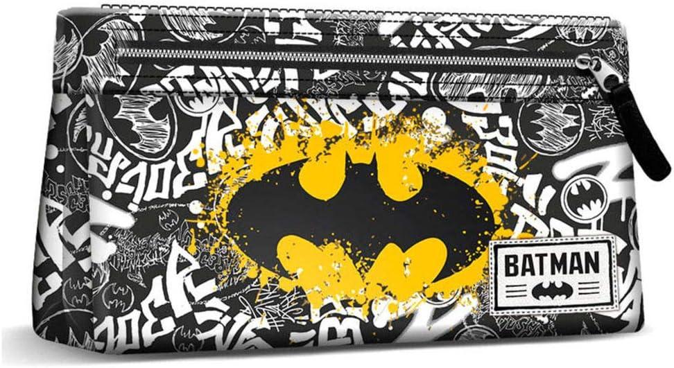 DC Comics Batman Tagsignal - Estuche básico para lápices (22 cm): Amazon.es: Oficina y papelería