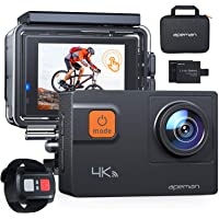 APEMAN Action Camera A87,Ultra 4K 60FPS WiFi 20MP HD Underwater Waterproof 40M Sports Camcorder with 170 Degree EIS…