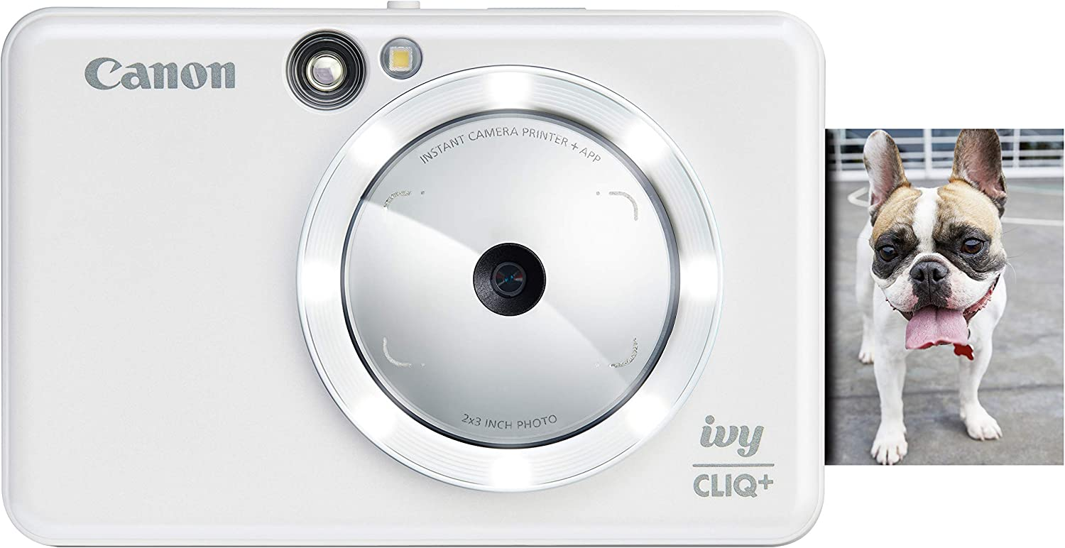 Canon IVY CLIQ+ Instant Camera Printer, Smartphone Photo Printer