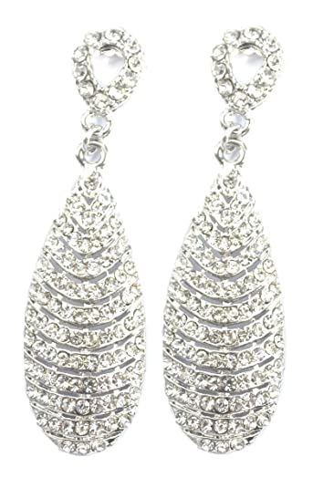 drop silver in lamoda love earrings cosmic diamante