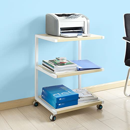 Impresora-Mesa de Rodadura SoBuy Estante con 3 ...