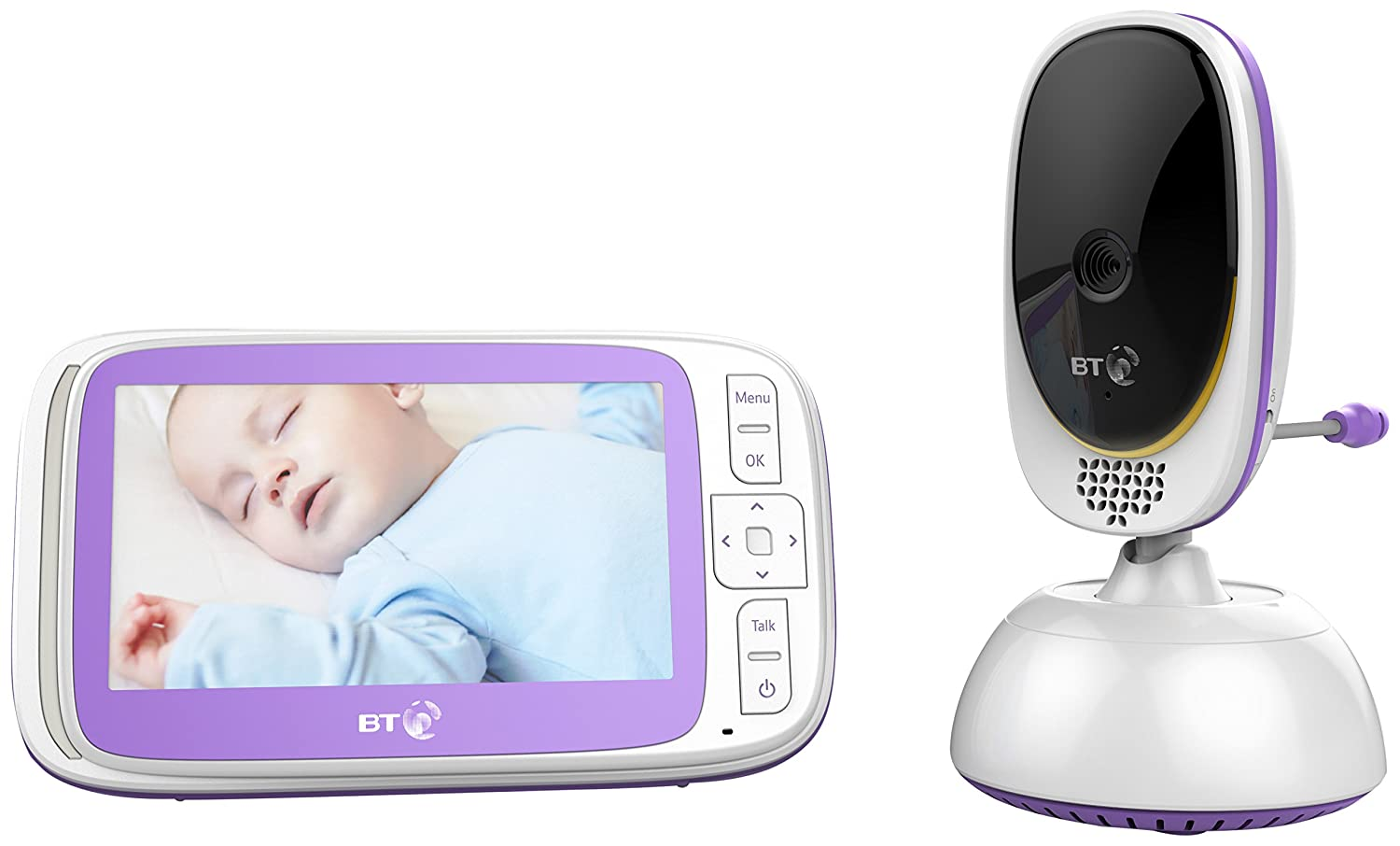 Bt 6000 Video Baby Monitor With Remote Control Facility Pan & Tilt