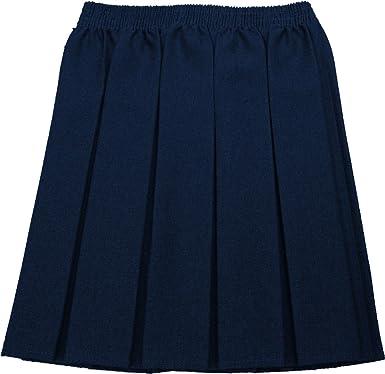 a4d4ad4bfa1 Jupe École Filles Boîte Plissé Uniforme Tous Coloris Tailles Only Uniform UK  - Bleu marine