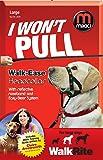 Mikki Training Walk-Ease Dog Head collar, Large Dog Halter